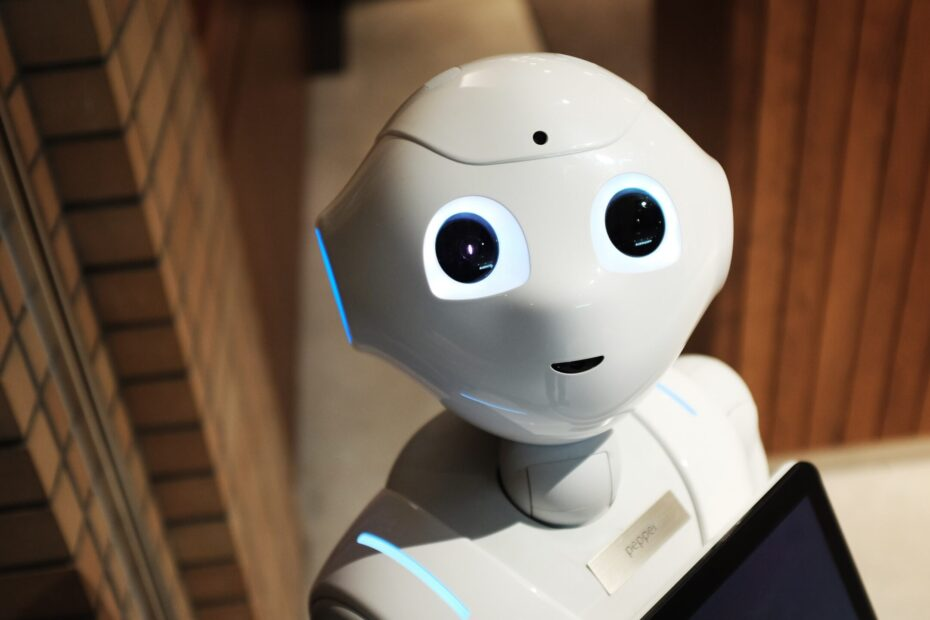 A white robot
